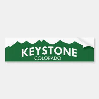 Keystone Colorado Bumper Sticker Car Bumper Sticker