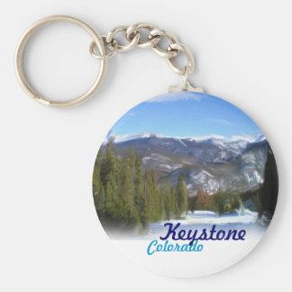 Keystone Colorado paint keychain