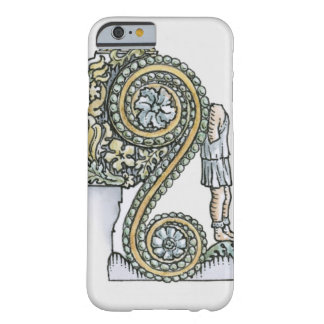 Keystone decoration from ancient Roman Arch of Barely There iPhone 6 Case