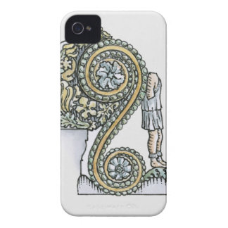 Keystone decoration from ancient Roman Arch of iPhone 4 Case