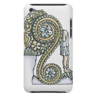 Keystone decoration from ancient Roman Arch of iPod Case-Mate Case