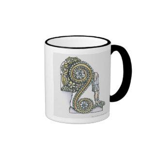 Keystone decoration from ancient Roman Arch of Ringer Coffee Mug