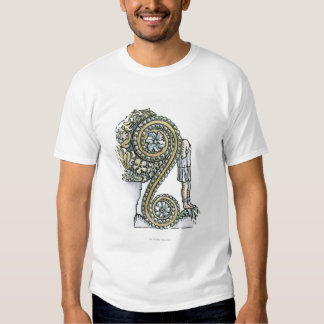 Keystone decoration from ancient Roman Arch of Tee Shirt