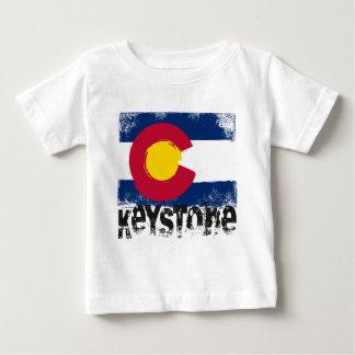 Keystone Grunge Flag Baby T-Shirt
