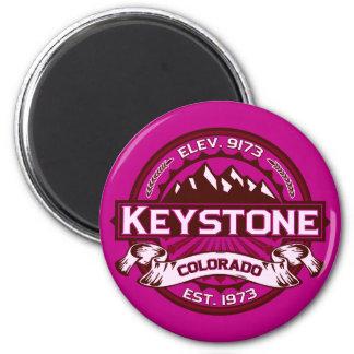 Keystone Logo Raspberry Magnet Magnet
