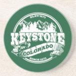 Keystone Old Circle Green Drink Coaster
