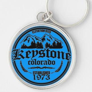 Keystone Old Circle Keychain