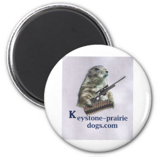 Keystone Prairie Dog rifle caption Magnet