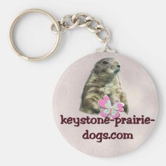 Keystone Prairie Dogs caption Keychain