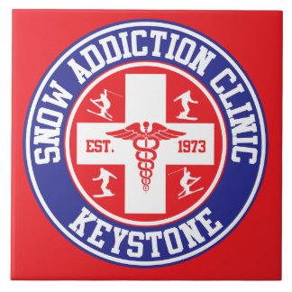 Keystone Snow Addiction Clinic Tile