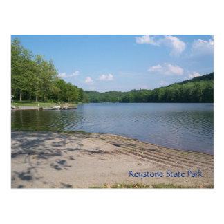 Keystone State Park Postcard