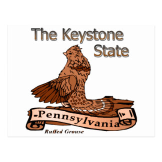 Keystone State Pennsylvania Bird Postcard