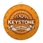 Keystone Tangerine Dart Boards