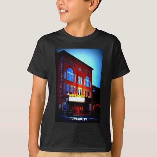 KEYSTONE THEATRE - TOWANDA, PENNSYLVANIA T-Shirt