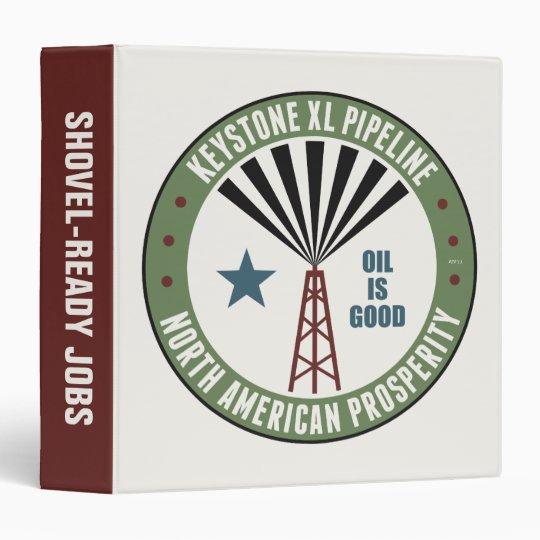 Keystone XL Pipeline Binder