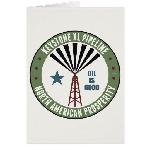 Keystone XL Pipeline Card