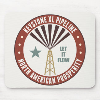 Keystone XL Pipeline Mouse Pad