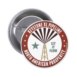 Keystone XL Pipeline Pinback Button