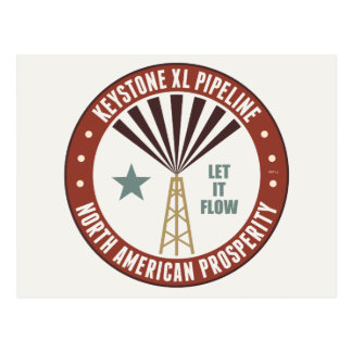 Keystone XL Pipeline Postcard