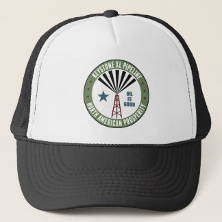 Keystone XL Pipeline Trucker Hat
