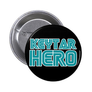 Keytar Hero Gamer wackiest best seller Pinback Button