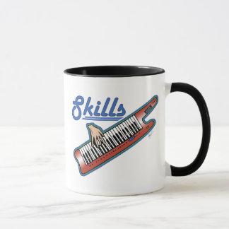 keytar skills design mug