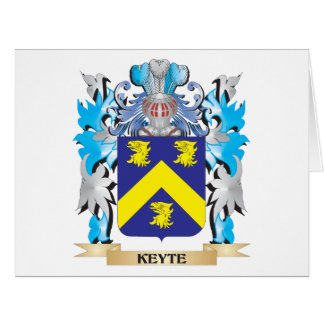 Keyte Coat of Arms - Family Crest Card