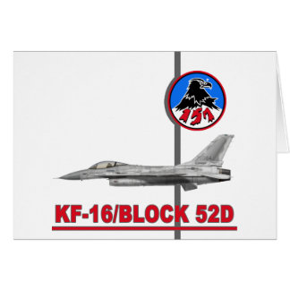 KF-16 157th Fighter Squadron Cards