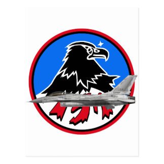 KF-16 157th Fighter Squadron Post Card