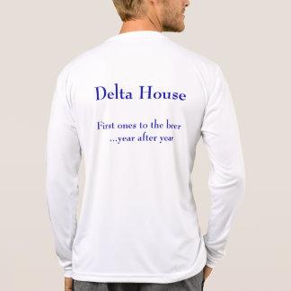 KFAC Delta House Microfiber Long Sleeve T-shirts