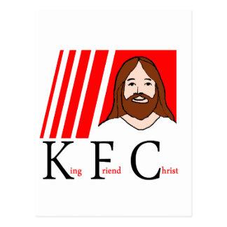 KFC CHRIST TEE POSTCARD