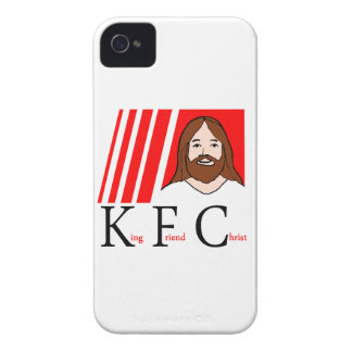KFC - King Friend Christ (Updated design) iPhone 4 Cases