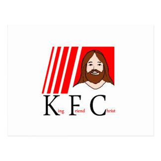 KFC - King Friend Christ (Updated design) Postcard