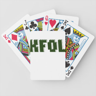 KFOL Kid Fan of ...... by Customize My Minifig Bicycle Playing Cards