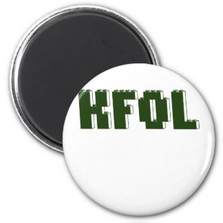 KFOL Kid Fan of ...... by Customize My Minifig Magnet
