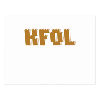 KFOL Kid Fan of ...... by Customize My Minifig Postcard