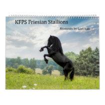 KFPS Friesian Stallion Calendar