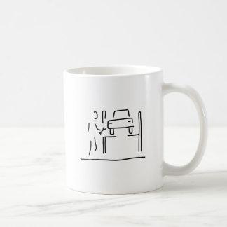 kfz mechaniker auto reaparatur taza de café