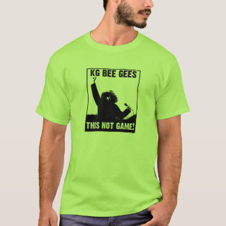 KG BEE GEES, rock the continent! T-Shirt