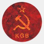 KGB ETIQUETAS REDONDAS
