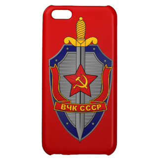 KGB Shield on Red iPhone 5C Case