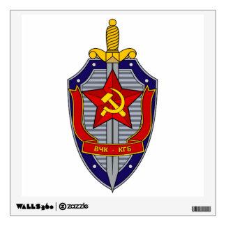 KGB WALL STICKER