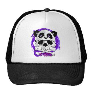 KGurl Panda Skull Beanie Trucker Hat
