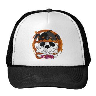 KGurl Rotty Skull Beanie Trucker Hat