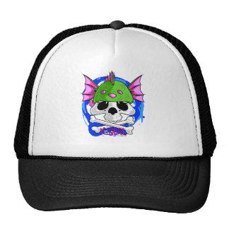 KGurl Seamonkey Skull Beanie Trucker Hat