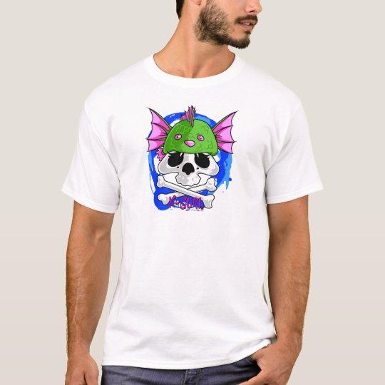KGurl Seamonkey Skull Beanie T-Shirt