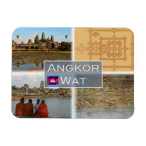 KH Cambodia - Angkor Wat - Vishnu - Magnet