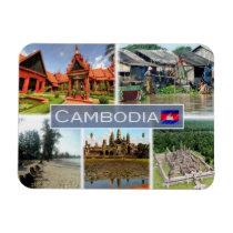 KH Cambodia - Phnom Penh  - Magnet