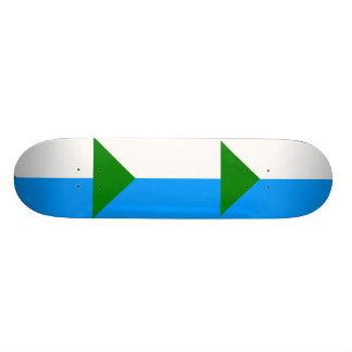 Khabarovsk Krai, Russia flag Skateboard