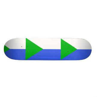 Khabarovsk, Russia flag Skate Board Deck